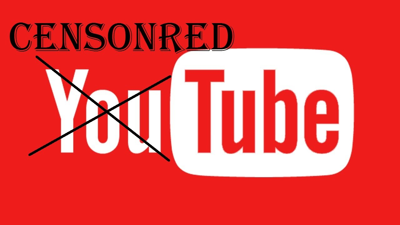 you tube - censored